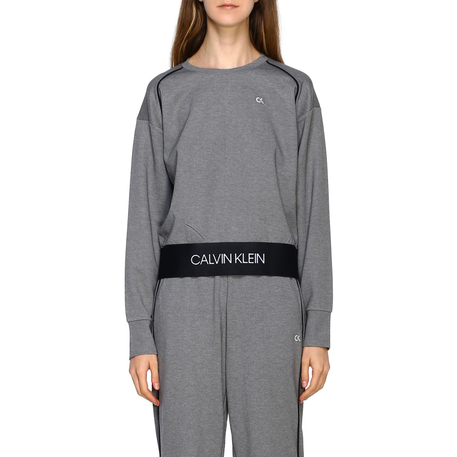 Sweater women Calvin Klein Performance grey 1