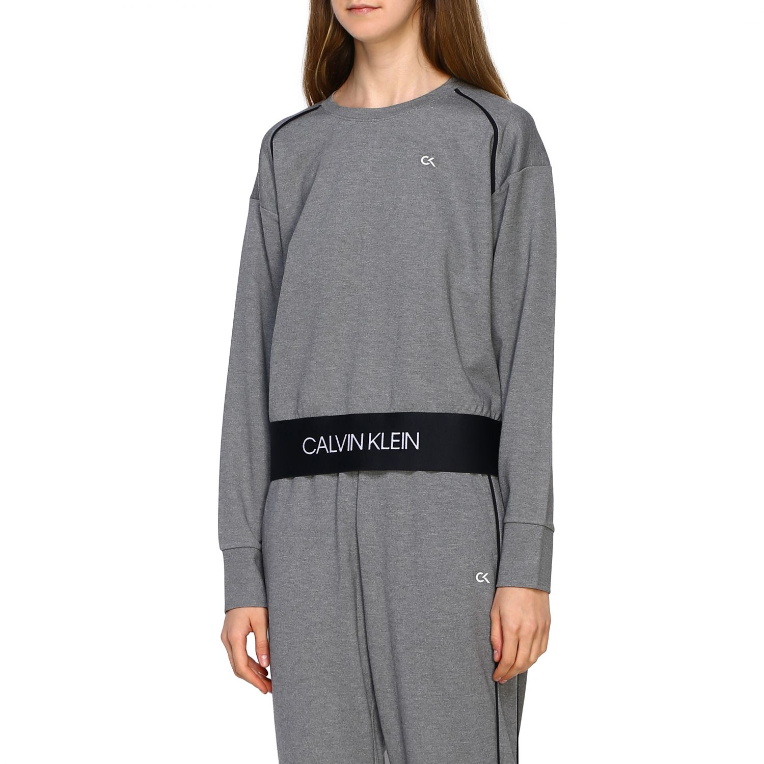 Sweater women Calvin Klein Performance grey 4