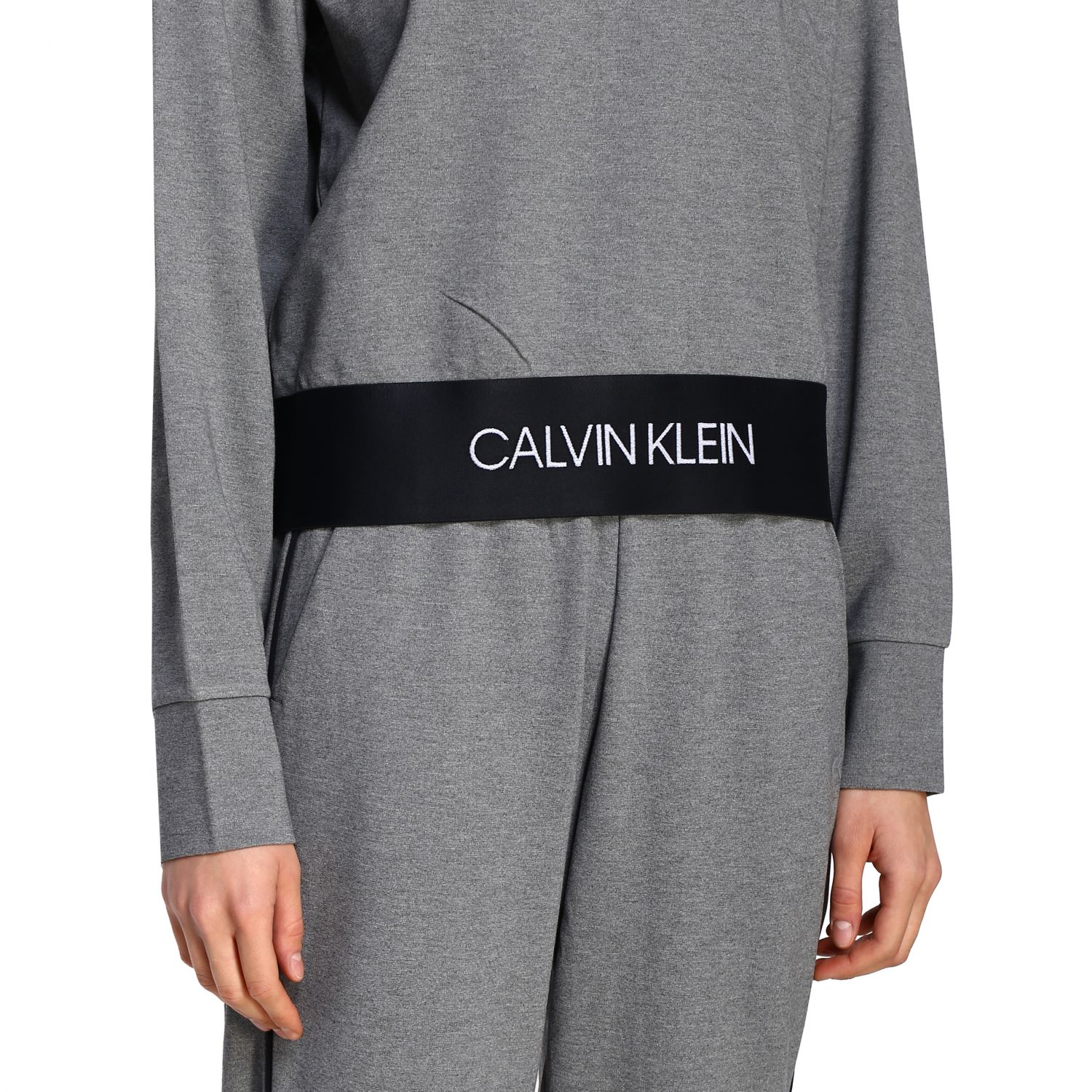 Sweater women Calvin Klein Performance grey 5