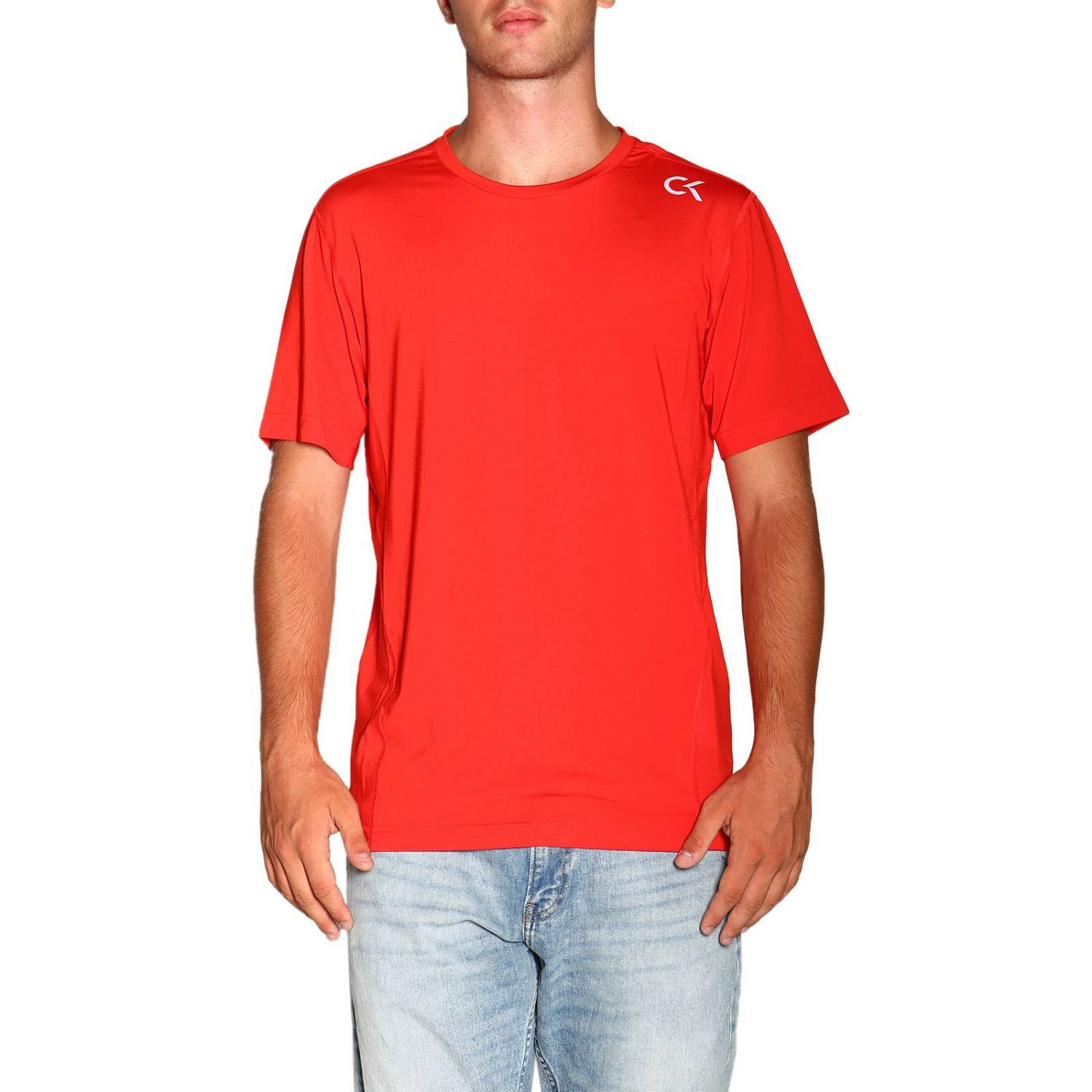 T-shirt Calvin Klein Performance: T-shirt homme Calvin Klein Performance rouge 1