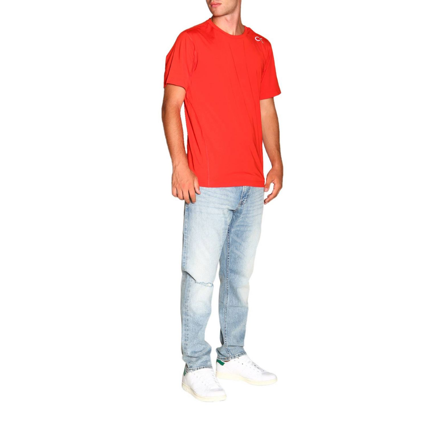 T-shirt Calvin Klein Performance: T-shirt homme Calvin Klein Performance rouge 2