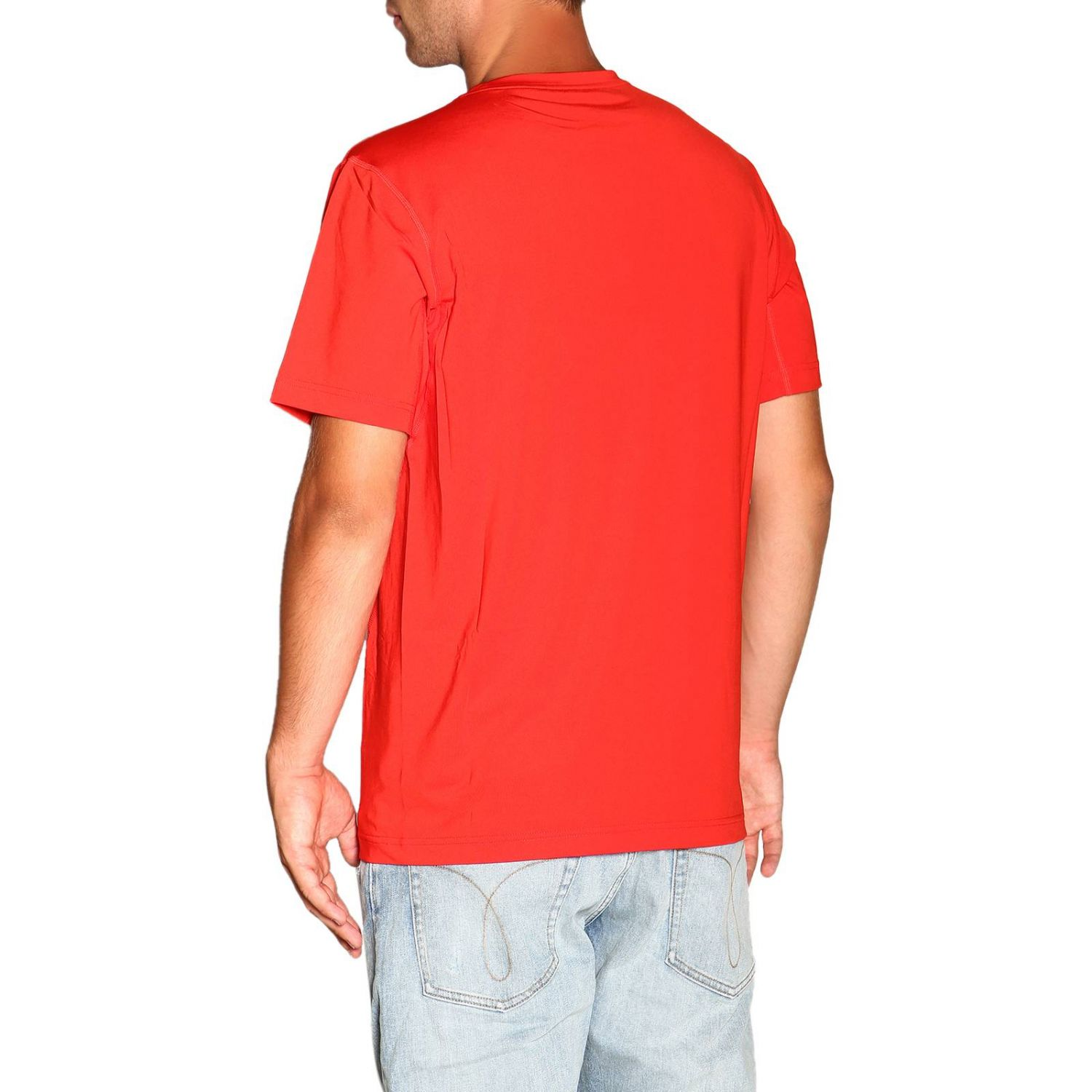 T-shirt Calvin Klein Performance: T-shirt homme Calvin Klein Performance rouge 3