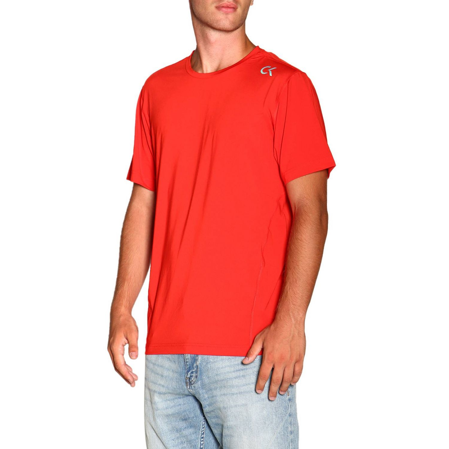 T-shirt Calvin Klein Performance: T-shirt homme Calvin Klein Performance rouge 4
