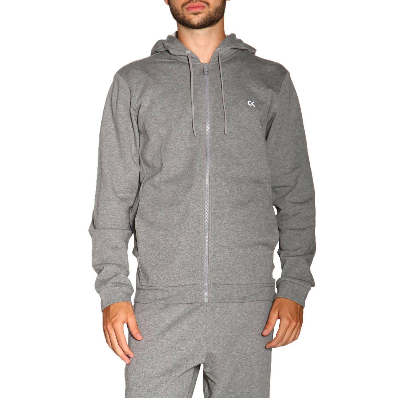 Sweater men Calvin Klein Performance grey 1