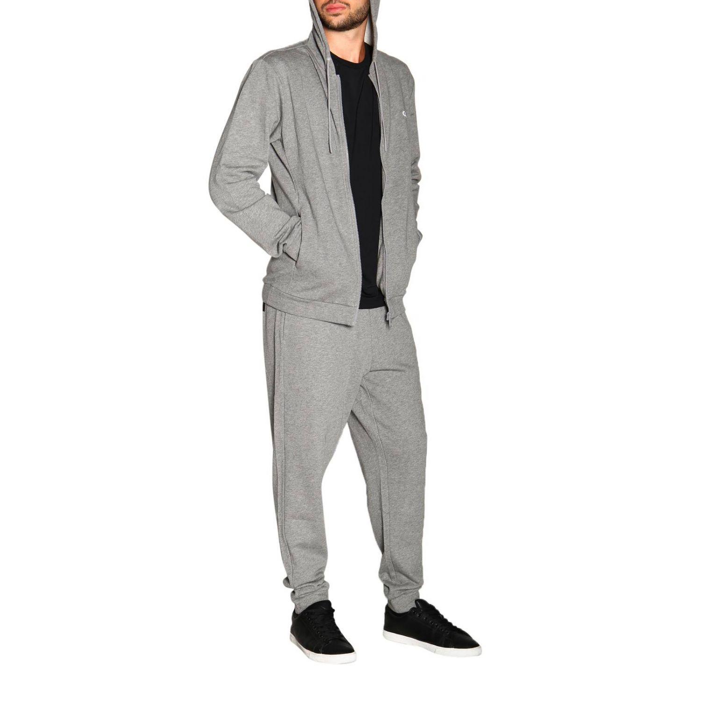 Sweater men Calvin Klein Performance grey 2