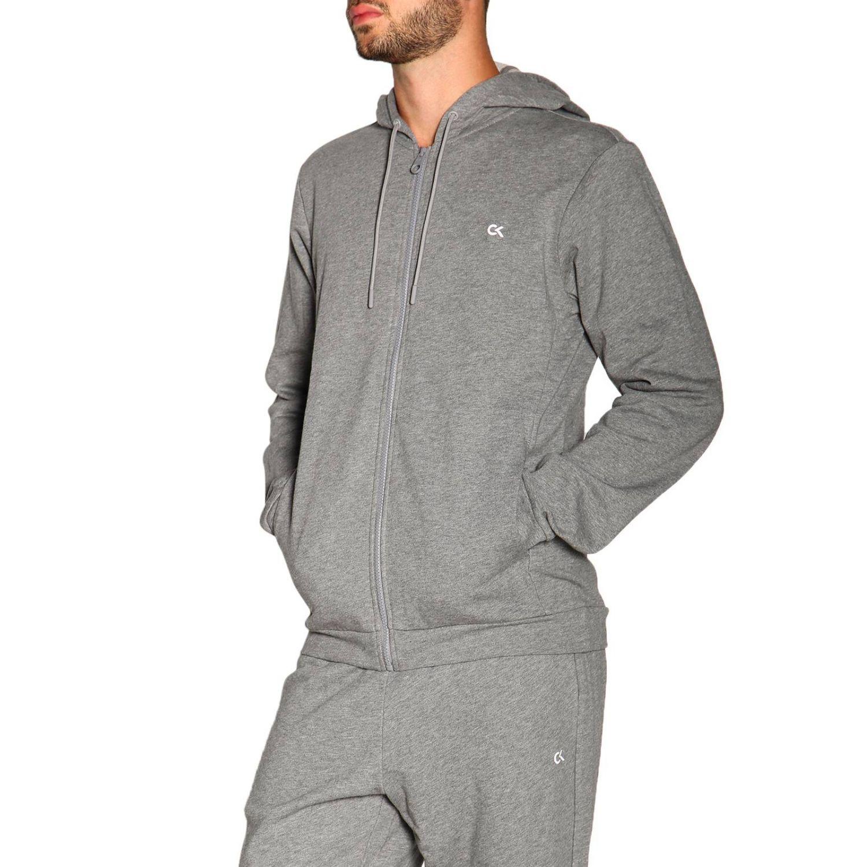 Sweater men Calvin Klein Performance grey 4