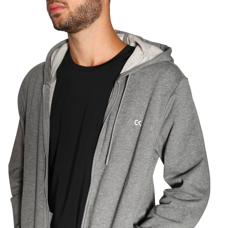 Sweater men Calvin Klein Performance grey 5