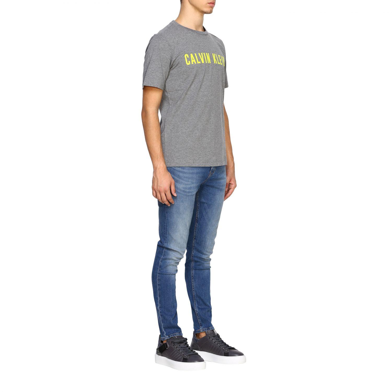 T-shirt men Calvin Klein Performance grey 2