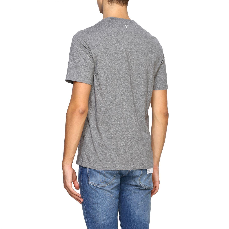 T-shirt men Calvin Klein Performance grey 3