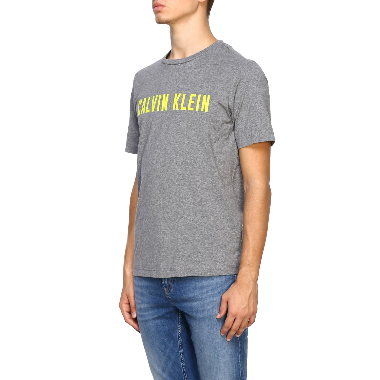 T-shirt men Calvin Klein Performance grey 4