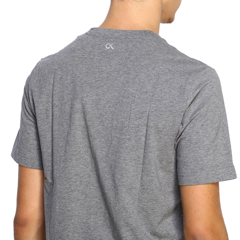 T-shirt men Calvin Klein Performance grey 5