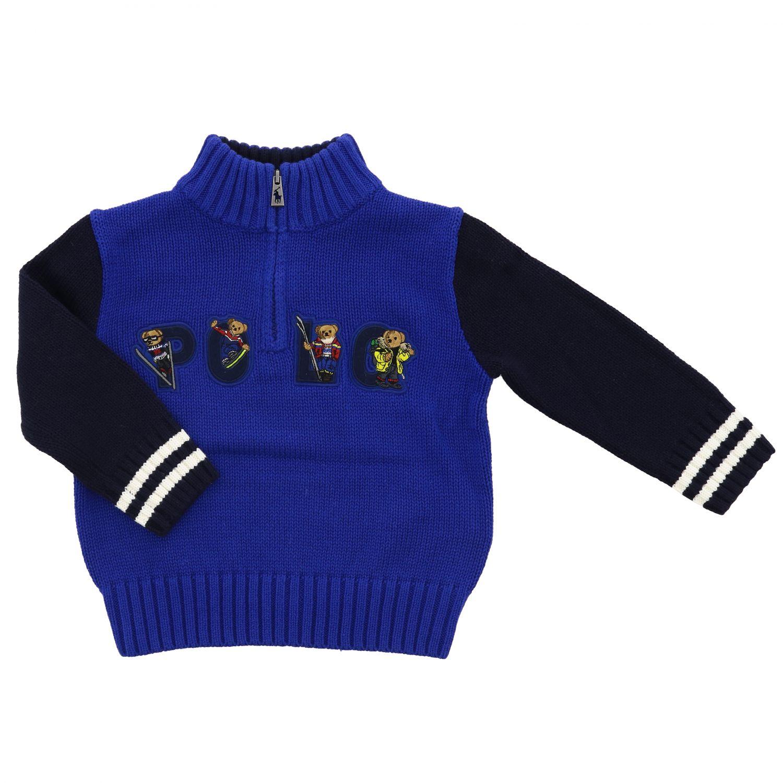 Sweater kids Polo Ralph Lauren Infant royal blue 1