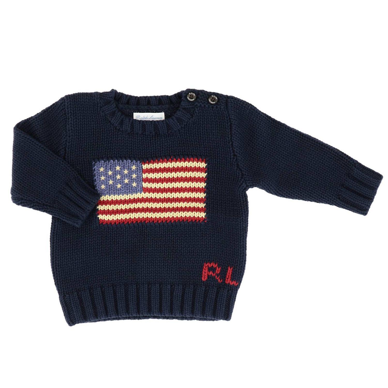 Pullover kinder Polo Ralph Lauren Infant blau 1