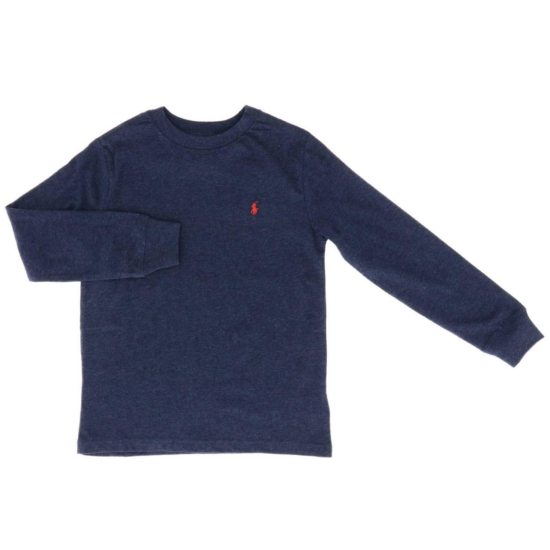 T-shirt kids Polo Ralph Lauren Kid blue 1