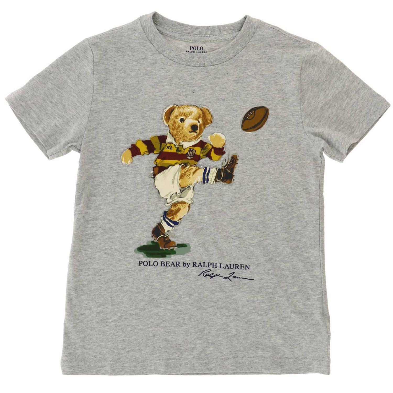 T-shirt kids Polo Ralph Lauren Kid grey 1