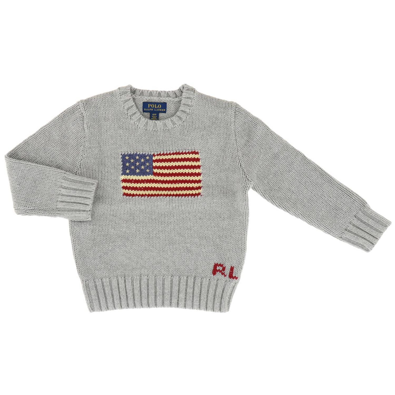 Jersey Polo Ralph Lauren Toddler: Jersey niños Polo Ralph Lauren Toddler gris 1