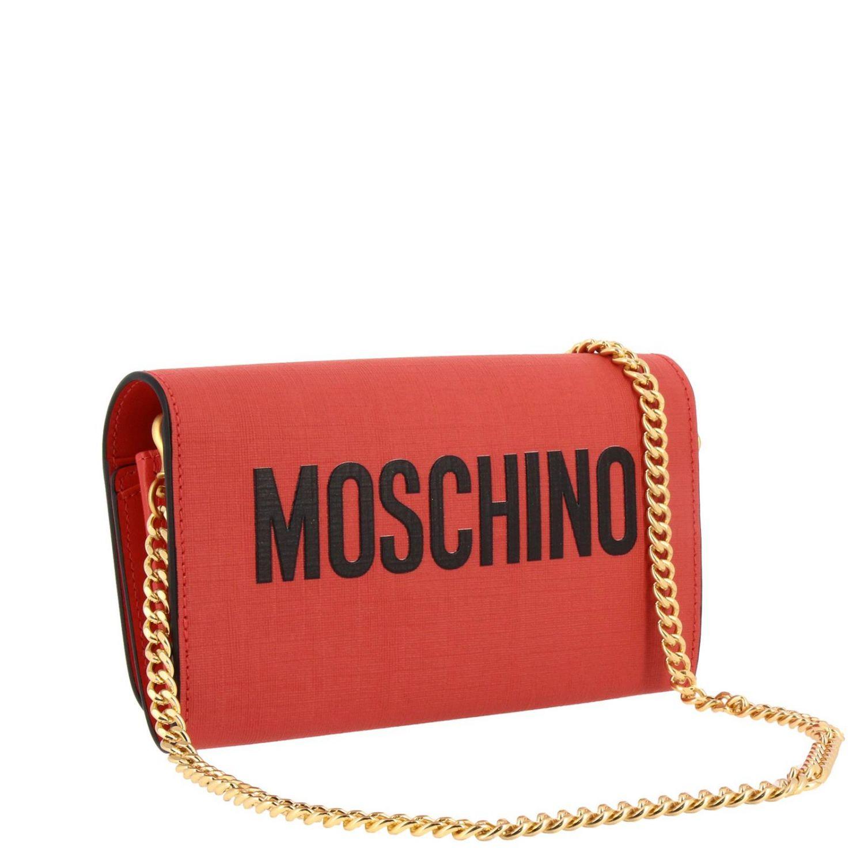 Sac bandoulière Moschino Couture en cuir synthétique avec impression Teddy gladiateur rouge 3
