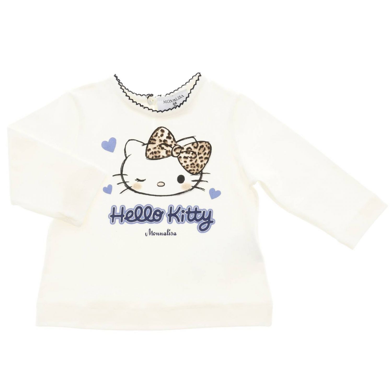 T恤 儿童 Monnalisa Bebe' 白色 1