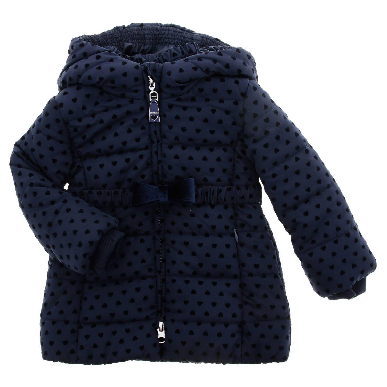 Veste enfant Monnalisa Bebe' bleu 1