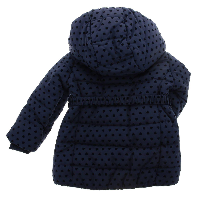 Veste enfant Monnalisa Bebe' bleu 2