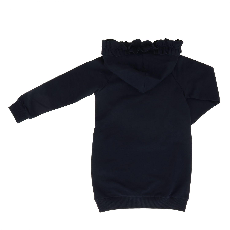 Robe enfant Monnalisa bleu 2