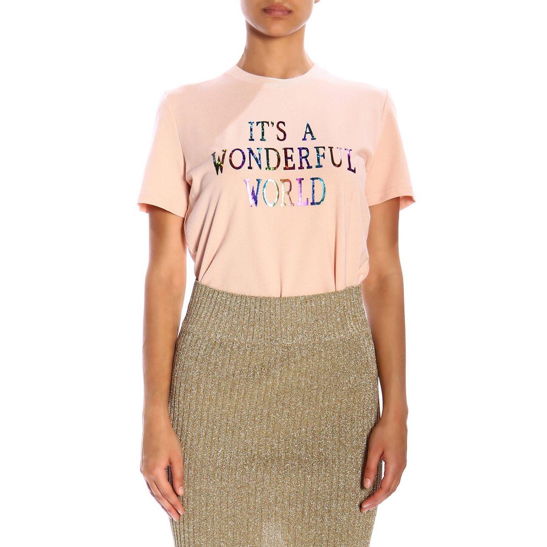 T-Shirt Alberta Ferretti: Alberta Ferretti short-sleeved T-shirt with