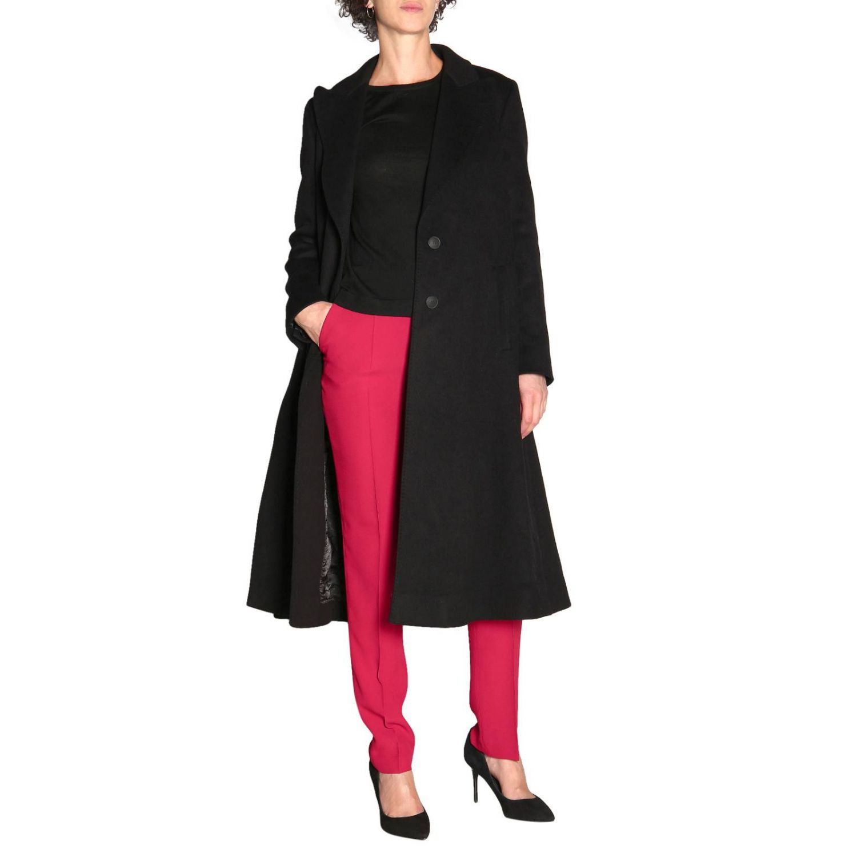 Pants Alberta Ferretti: Alberta Ferretti slim pants with American pockets ruby 2