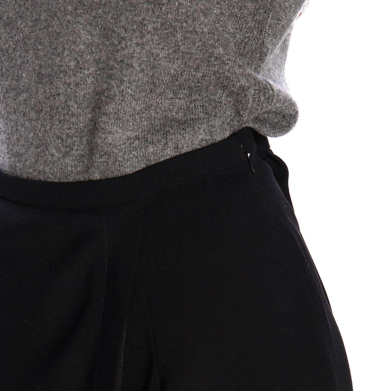 Skirt Alberta Ferretti: Alberta Ferretti pencil skirt with contrasting panel black 4