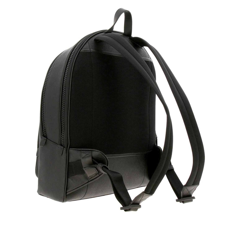 Sarkis Bally grand sac à dos avec bande trainspotting noir 4