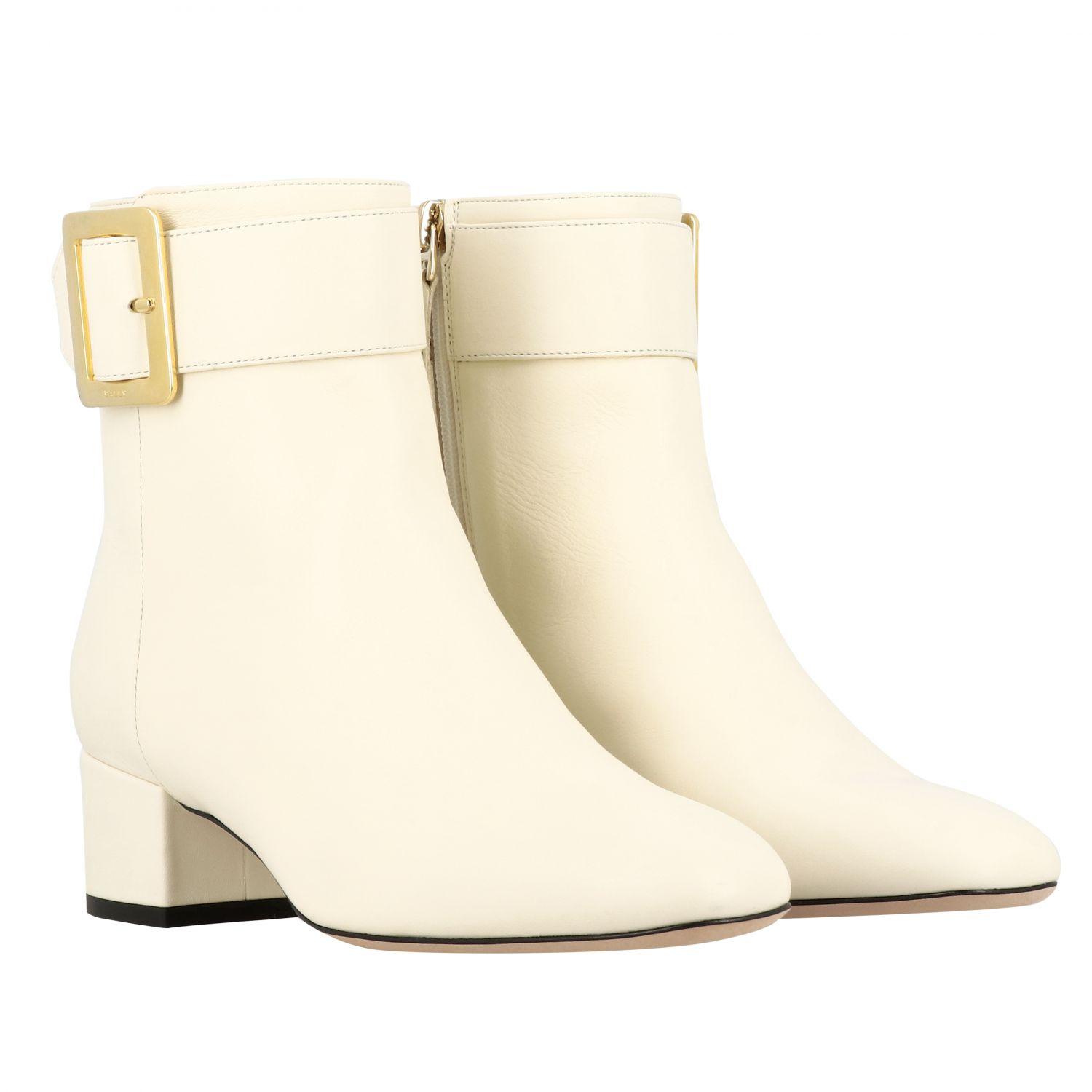 Shoes women Bally yellow cream 2