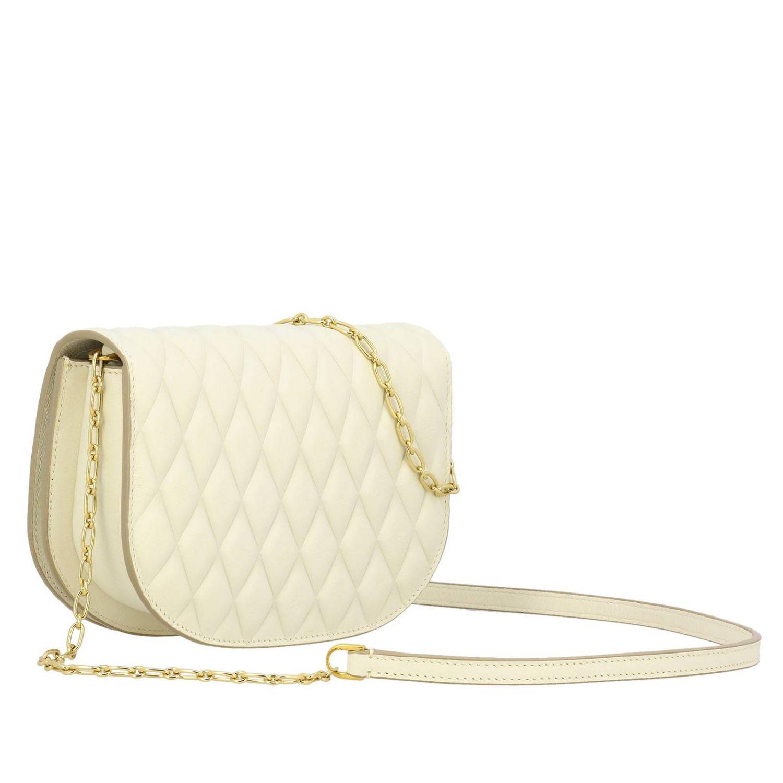 Shoulder bag women Bally yellow cream 3
