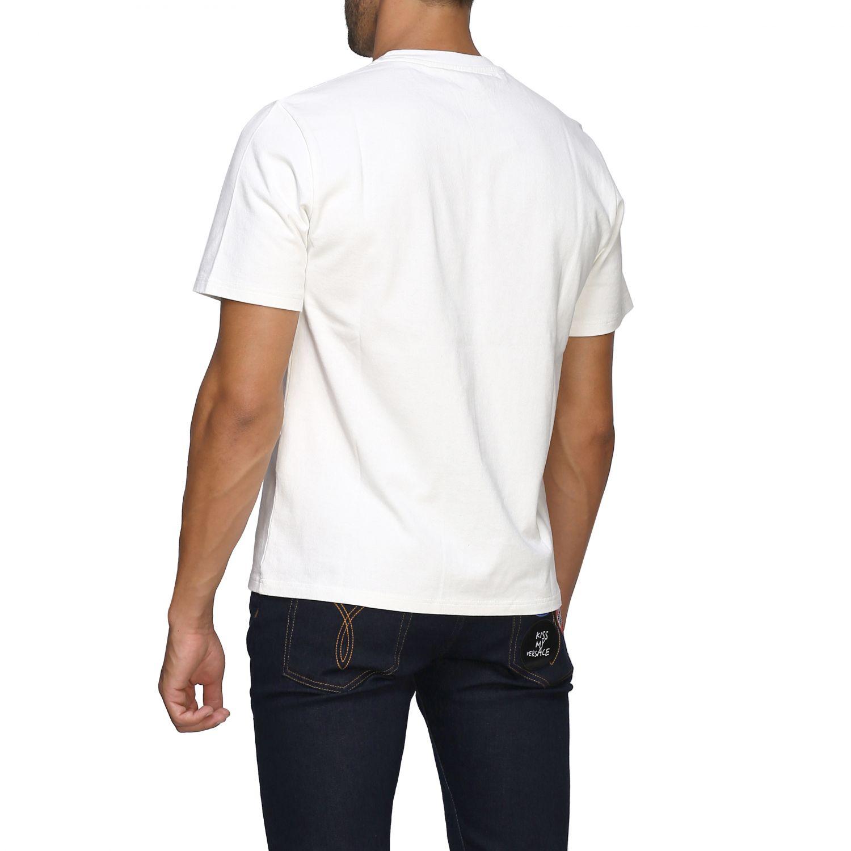 T-shirt Golden Goose a maniche corte con logo bianco 3