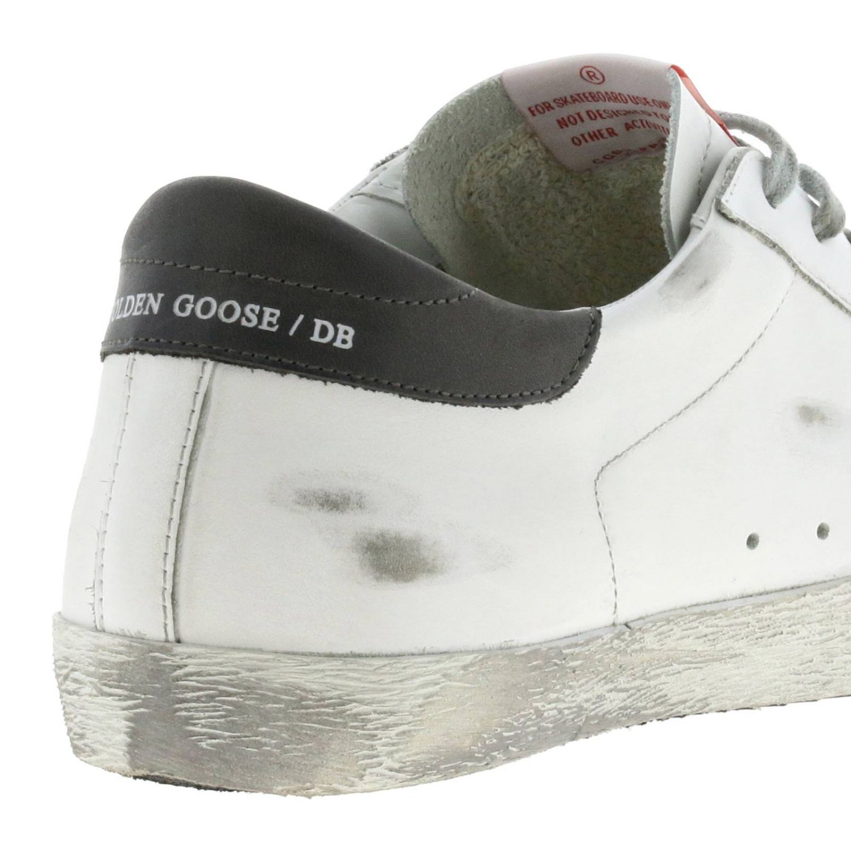 Sneakers Superstar Golden Goose in pelle used bianco 5