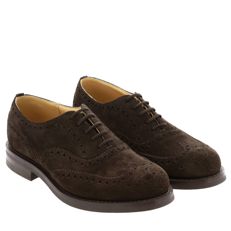 Brogue shoes Church's: Shoes men Church's dark 2