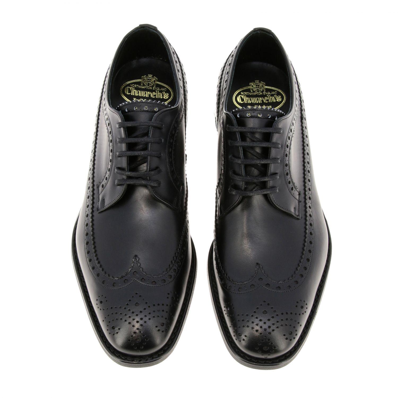 Schuhe herren Church's schwarz 3