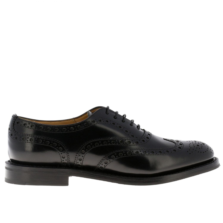 Schuhe damen Church's schwarz 1