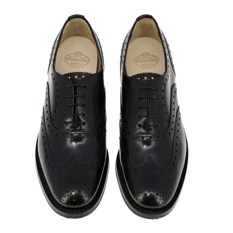 Schuhe damen Church's schwarz 3