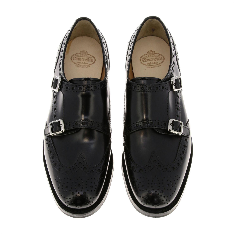 Brogues Church's: Shoes women Church's black 3