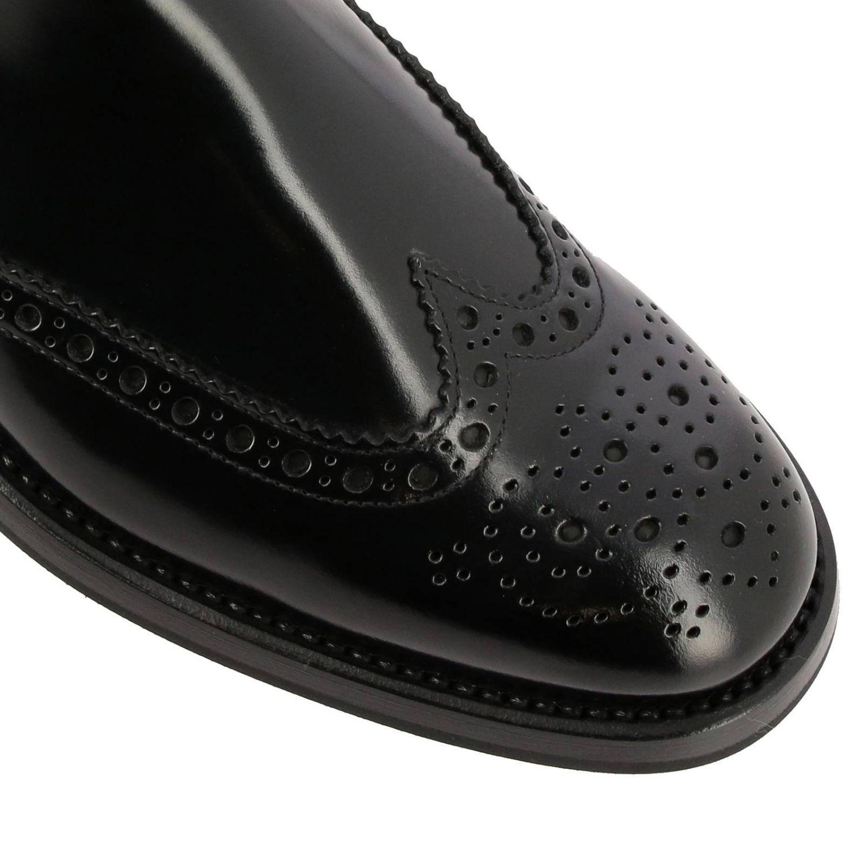 Flat ankle boots Church's: Shoes women Church's black 3