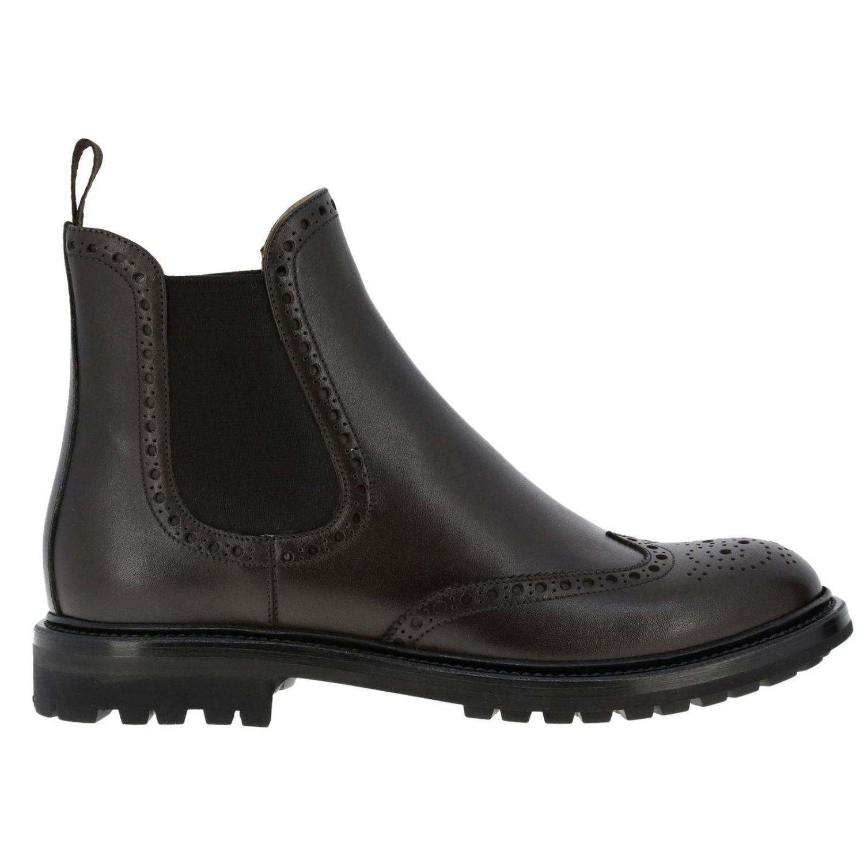 Flat ankle boots Church's: Shoes women Church's dark 1