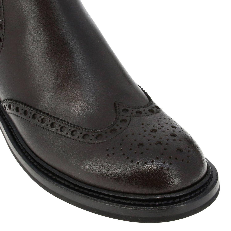Flat ankle boots Church's: Shoes women Church's dark 4