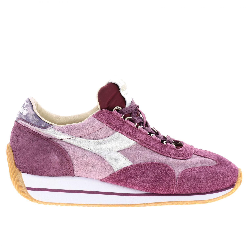 Schuhe damen Diadora Heritage fuchsia 1