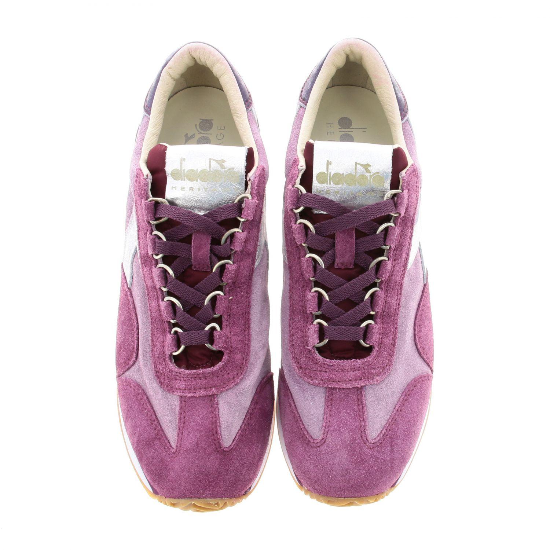 Shoes women Diadora Heritage fuchsia 3