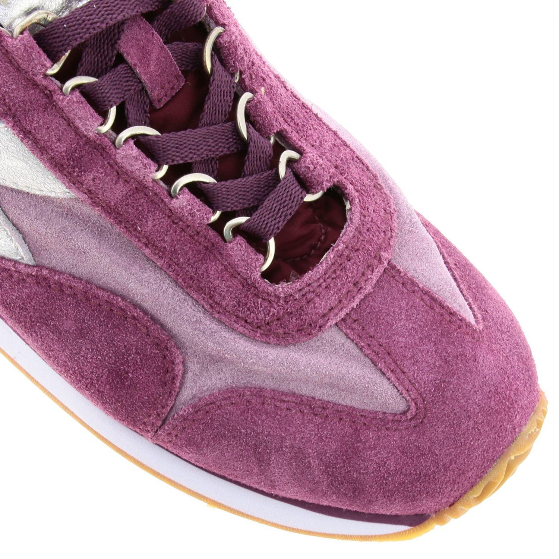 Shoes women Diadora Heritage fuchsia 4
