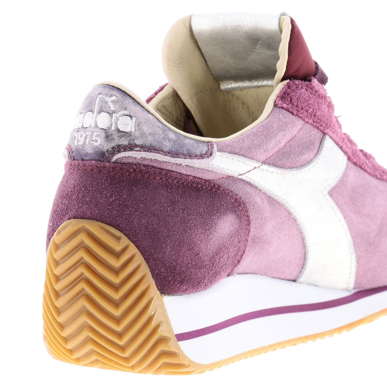 Shoes women Diadora Heritage fuchsia 5