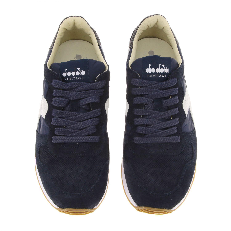 Sneakers Diadora Heritage: Shoes men Diadora Heritage blue 3
