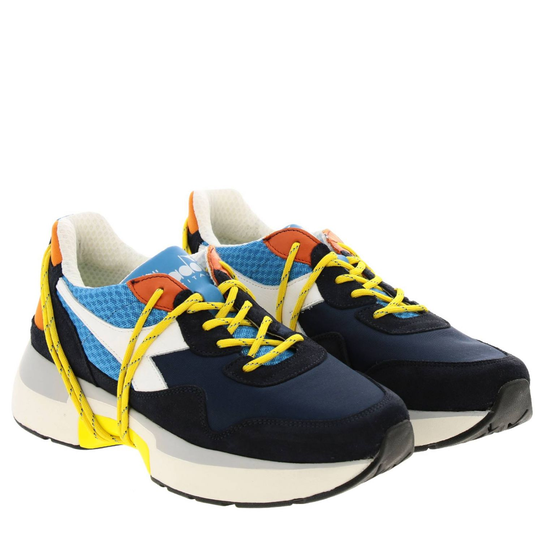 Sneakers Diadora Heritage: Shoes men Diadora Heritage blue 2