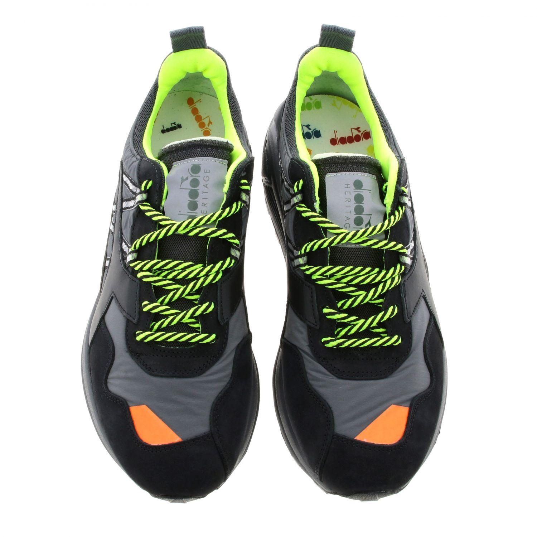 Sneakers Diadora Heritage: Shoes men Diadora Heritage black 3