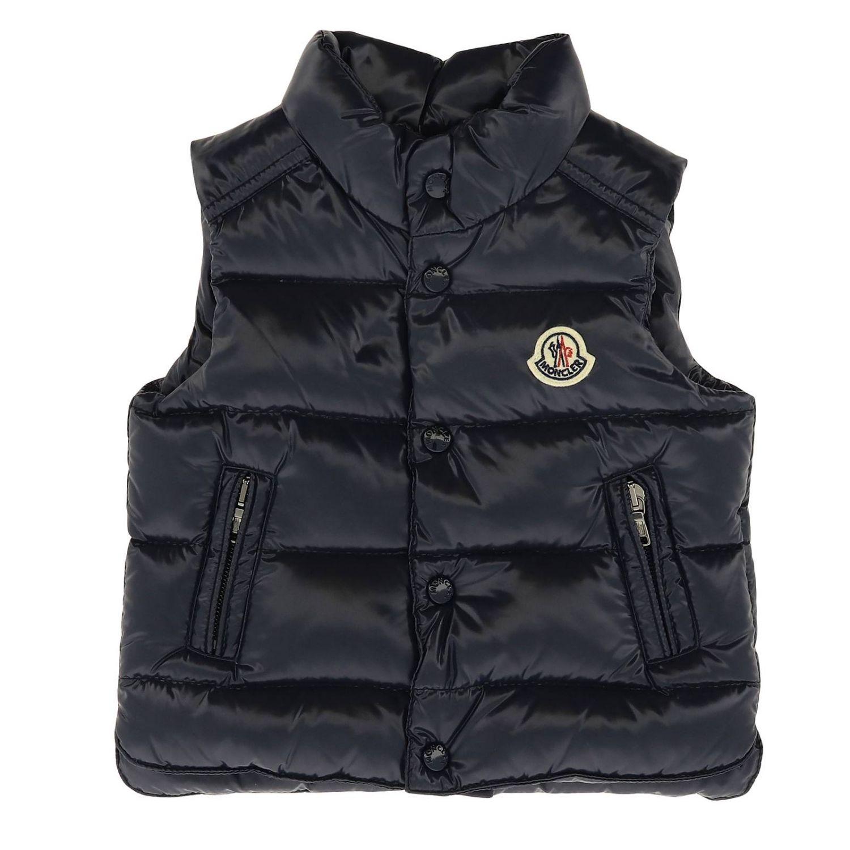 Jacket kids Moncler blue 1