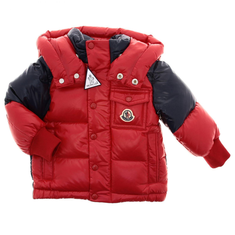 Jacket kids Moncler red 1